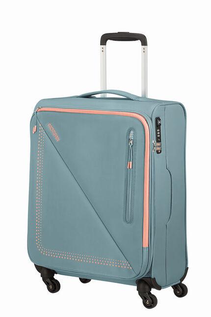Lite Volt Nelipyöräinen matkalaukku 55cm (20cm)
