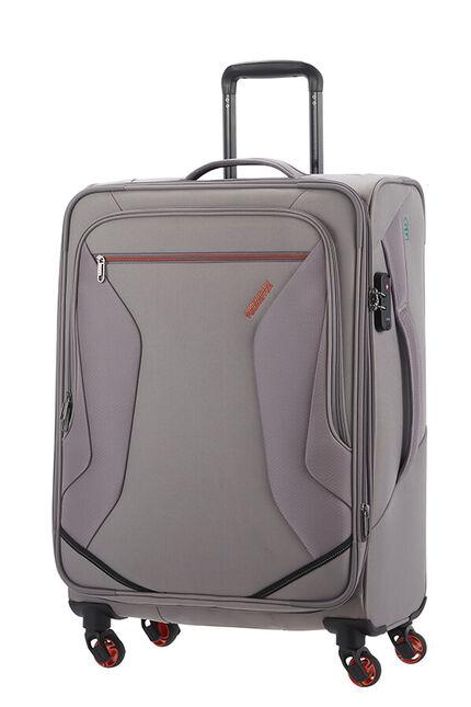 Eco Wanderer Nelipyöräinen laajennettava matkalaukku 67cm